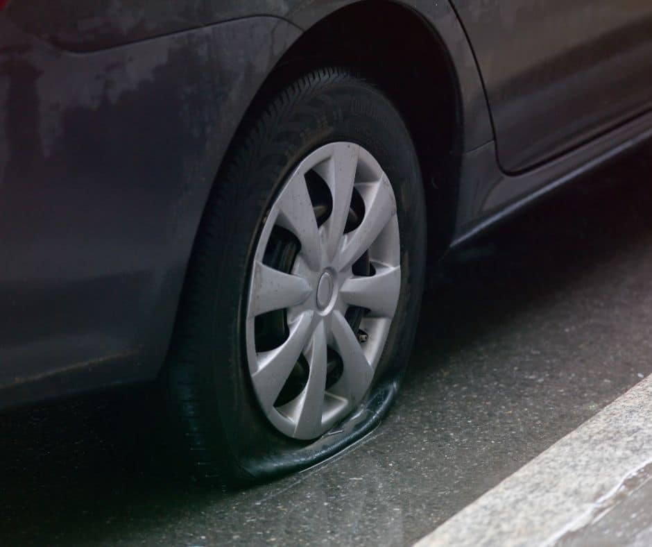 Changing a Flat Tire Service in Atlanta